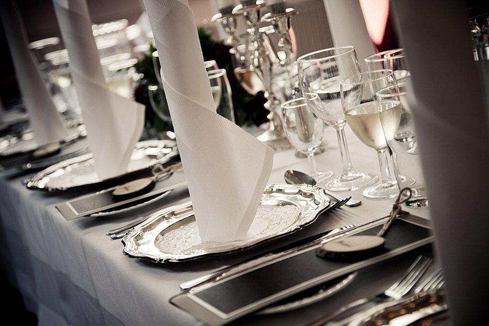 bryllup middag