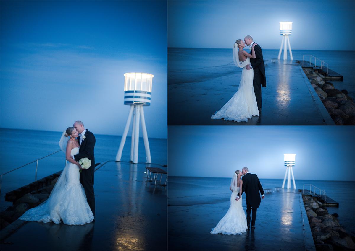 Et blåt bryllup
