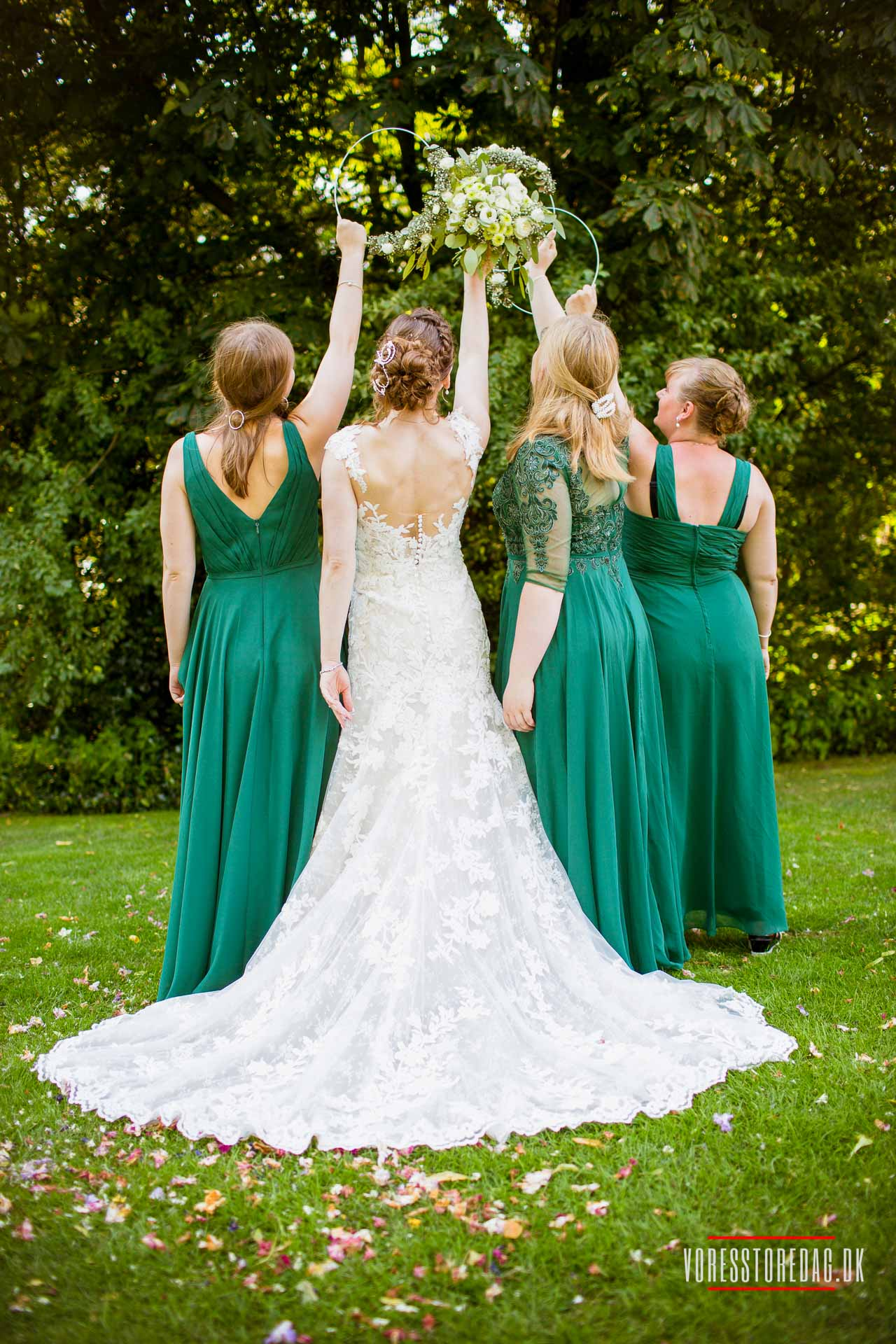 skribent til bryllup